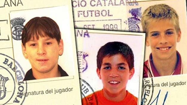 Будущие звезды Лео, Сеск и Жерар, teinteresa.es