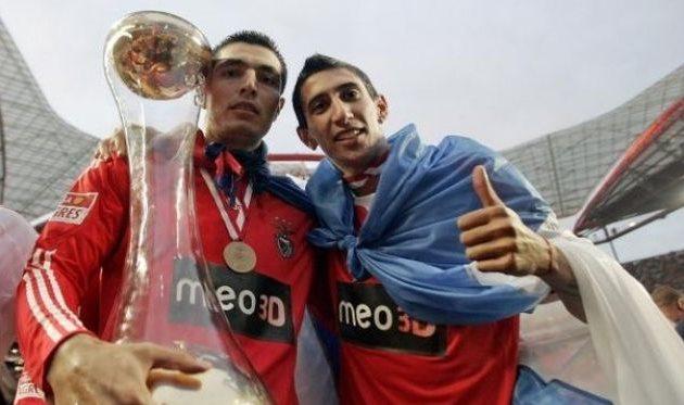 Оскар Кардосо и Анхель Ди Мария, resultados-futbol.com