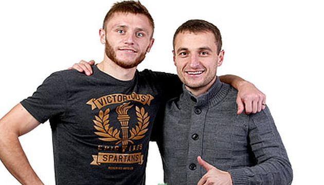 Михаил Клполовец (справа), fckarpaty.lviv.ua