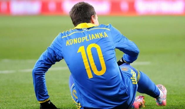 Евгений Коноплянка, фото Ильи Хохлова, Football.ua