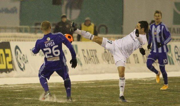 Погода в Полтаве была нефутбольной, фото Олега Дубины, Football.ua