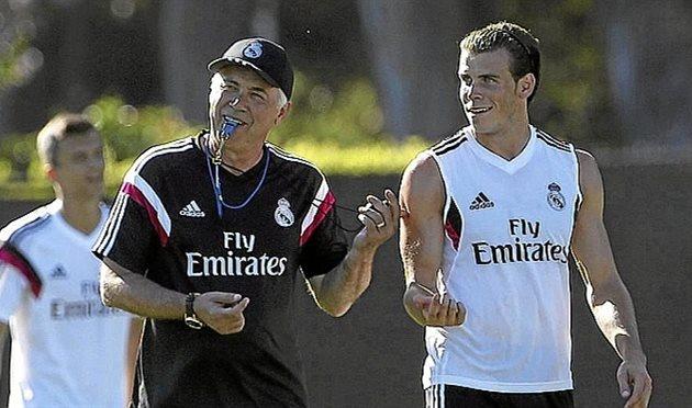 Анчелотти и Бэйл, Marca