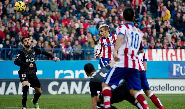 Антуан Гризманн забивает второй гол, Getty Images