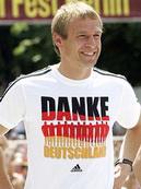 Юрген Клинсманн благодарит Германию