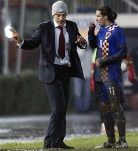 Славен Билич и Дарио Срна, фото AP