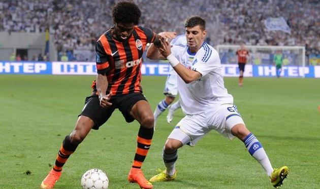 Драгович против Луиса Адриано, фото © ИЛЬЯ ХОХЛОВ, Football.ua