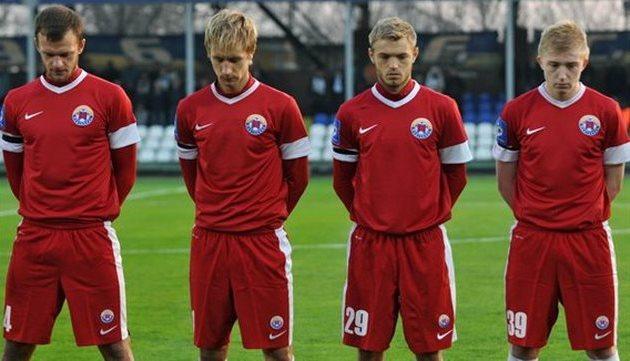 Футболисты Ильичевца, фото Михаила Масловского, Football.ua