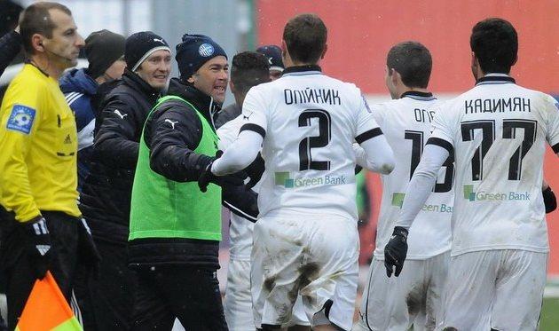 Олимпик: дальше без Олейника. Фото © ИЛЬЯ ХОХЛОВ, Football.ua