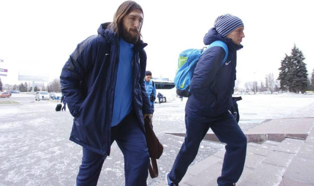 Дмитрий Чигринский (слева), фото www.fcdnipro.ua