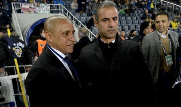 Роберто Карлос и Исмаил Картал, ligtv.com.tr