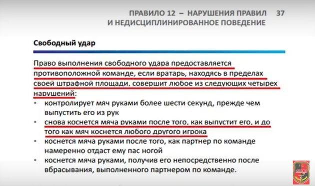 Гелиос: голкиперу Динамо-2 все можно?