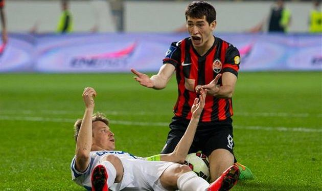 Ротань и Степаненко, фото СТАНИСЛАВа ВЕДМИДя, football.ua
