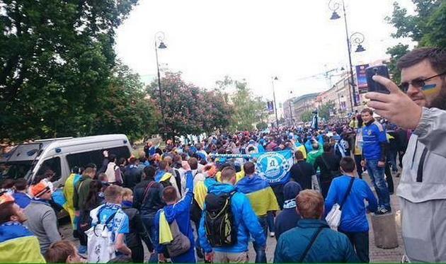 Украинцы в Варшаве nv.ua