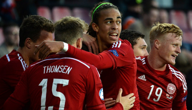 Радость игроков Дании, uefa.com