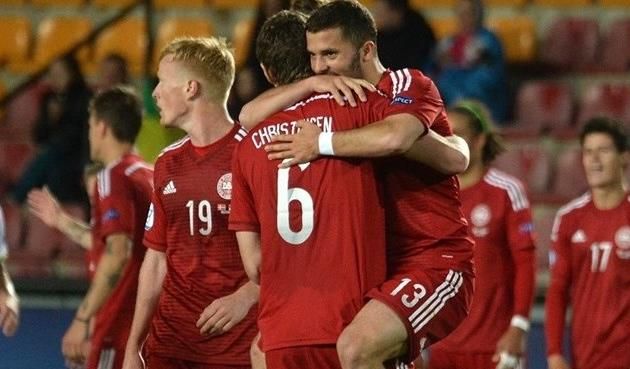 Евро-2015 (U-21). Дания — Сербия 2:0