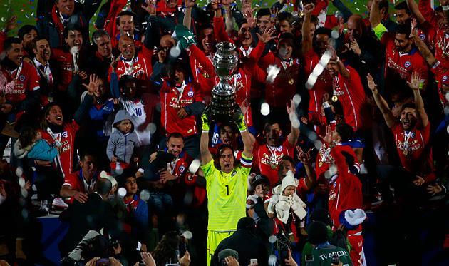 Чили выигрывает Кубок Америки!