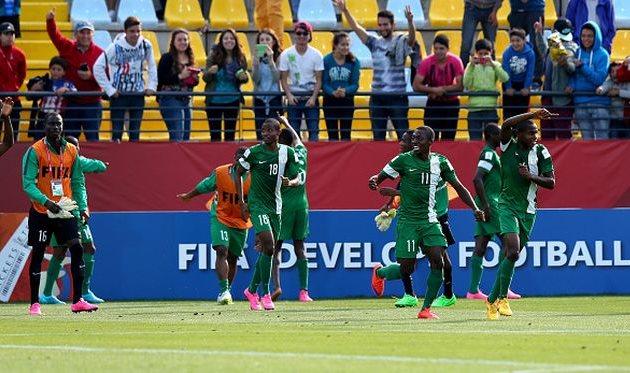 Нигерийцы сокрушили одногодок из Бразилии Getty Images