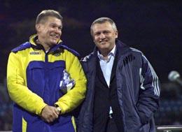 Олег Блохин и Игорь Суркис