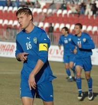 Максим Шацких, фото uzfootball.com