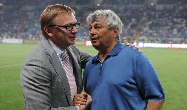 Палкин и Луческу, Football.ua