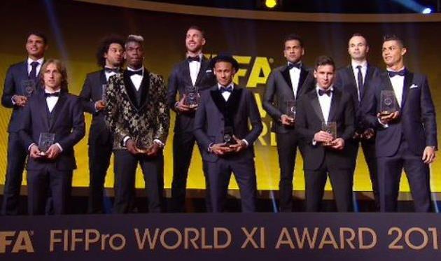 Символическая сборная, фото: твиттер Sky Sports