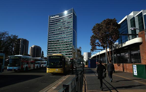Офис Делойт в Сиднее, Getty Images
