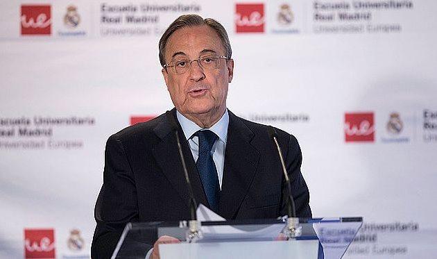 """«""""Реал"""" небудет никого подписывать вянваре»— Перес"""