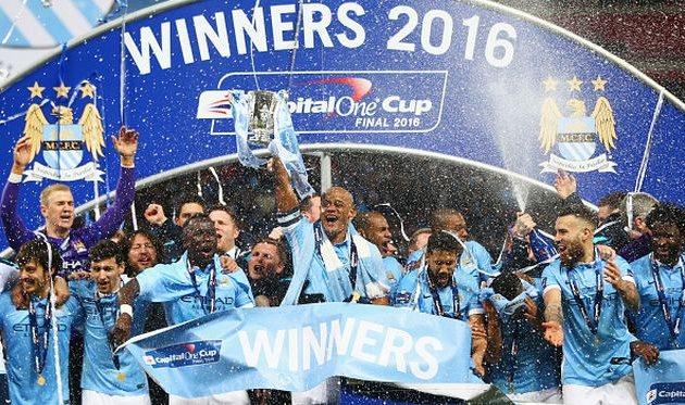 Ман Сити - триумфаторы Кубка Лиги, Getty Images