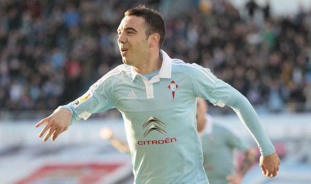 Победный гол на счету Яго Аспаса, laliga.es