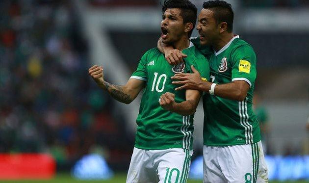 В центральном матче тура Мексика сломила сопротивление Канады, Getty Images