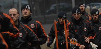 Кравченко влился в коллектив горняков, фото shakhtar.com