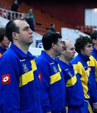 Юрий Мороз и его дружина, фото komanda.com.ua
