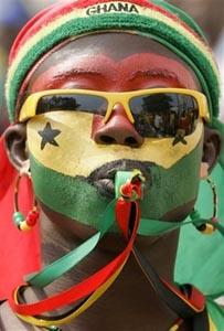 Go, Ghana, go! Фото AP