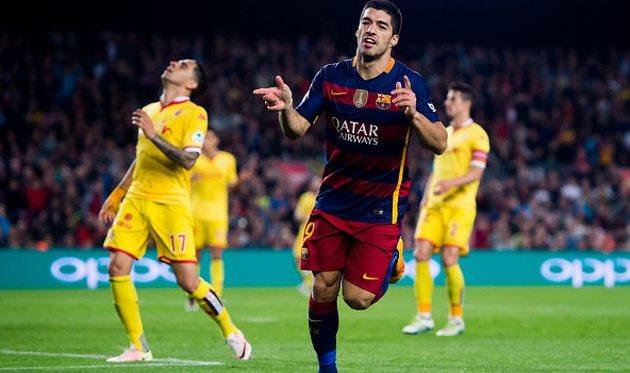 Луис Суарес становится главной ударной силой Барселоны Getty Images