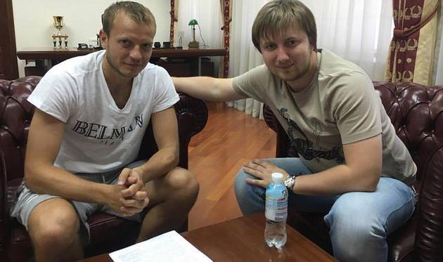 Олег Гусев и Вадим Шаблий Facebook