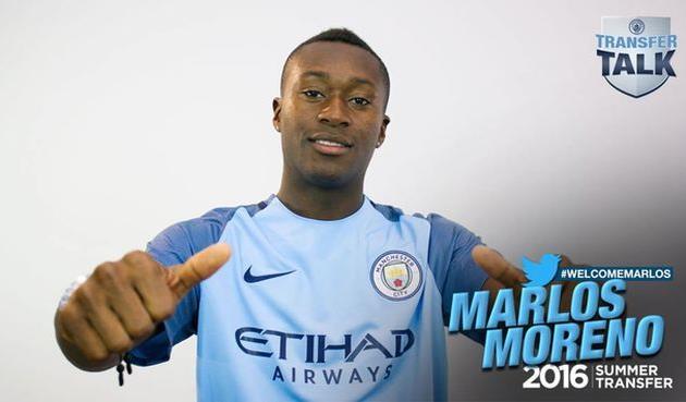 «Манчестер Сити» подписал договор сфорвардом сборной Колумбии Морено