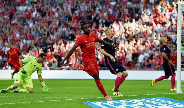 «Ливерпуль» встолице Англии разгромил «Барселону»