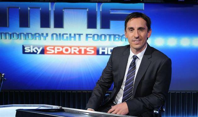 Гари Невилл вернулся наSky Sports