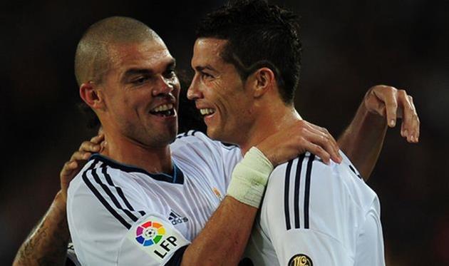 Роналду иПепе приступили ктренировкам всоставе «Реала»