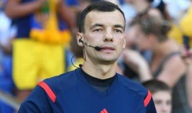 Сергей Бойко получил назначение наматч Лиги Европы