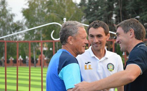 Маркевич с тренером 4-го тура, koloskovalivka.com