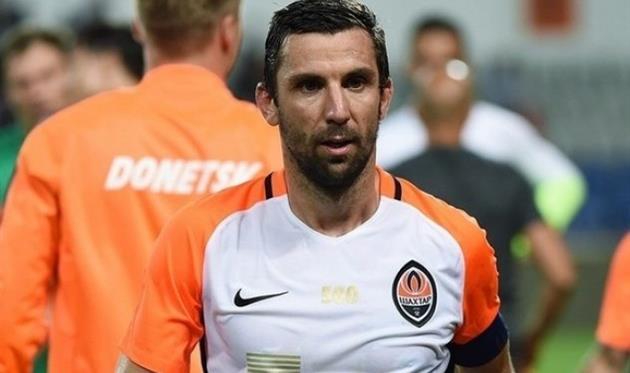 «Донбасс Арену» раскрасили вчесть 500 матча Срны в«Шахтере»