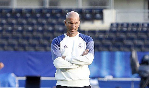 Зидан: для «Реала» чемпионат Испании важнее, чем Лига чемпионов