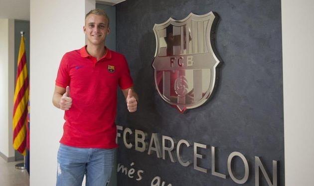 Силлессен подписал договор с«Барселоной»