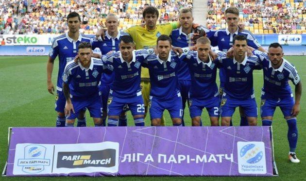 Динамо стартует вЛЧ домашней игрой сНаполи