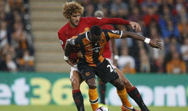 Рэшфорд вдобавленное время принес «Манчестер Юнайтед» победу над «Халл Сити»