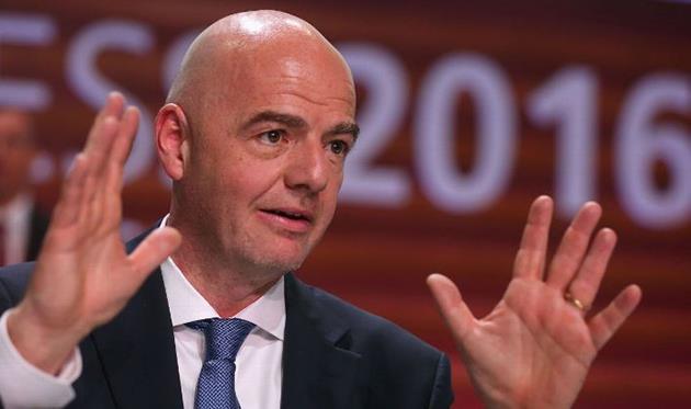 Инфантино желает увеличить число участников клубного чемпионата мира
