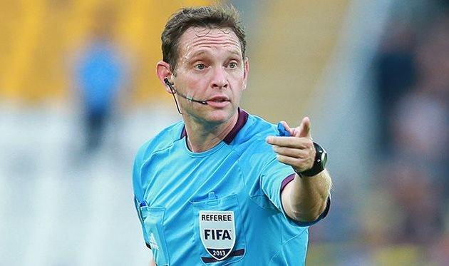 Арбитр Арановский обслужит матч отбораЧМ