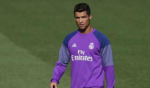 Роналду провел первую тренировку всоставе «Реала» после травмы