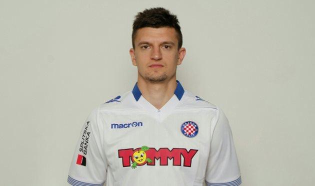 Украинский футболист разорвал договор сХайдуком